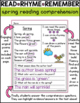 Spring Reading Comprehension Poems