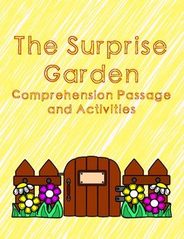 Spring Reading Comprehension Primary Bundle - The Surprise Garden