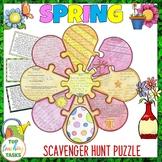 Spring Reading Comprehension Activity