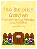 Spring Reading Comprehension Second Grade - The Surprise Garden