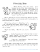 Spring Reading Comprehension Third Grade - Friendship Stew