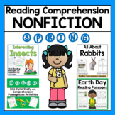 Spring Reading Comprehension Passages and Activities for Second and Third Grade
