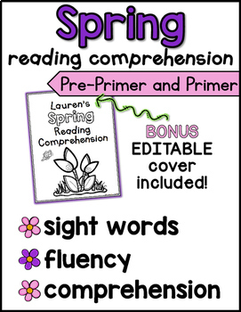 Spring Reading Comprehension for Kindergarten
