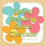 Spring Reading Goals Checklist