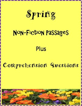 Free Close Reading Spring