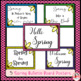 Spring Reading Response Templates