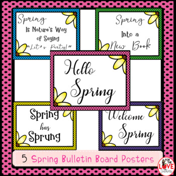 Reading Response Templates: Spring