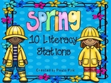 Spring Reading Stations