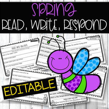 Spring Reading & Writing
