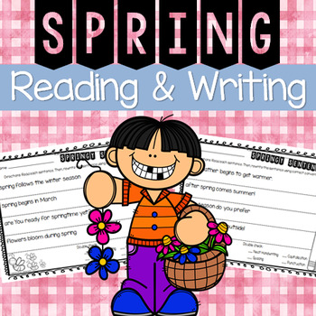 Spring Reading and Writing Activity