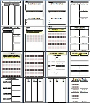 Spring Reading and Writing Templates