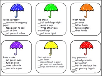 Spring Receptive Language Pack for Speech and Language Therapy