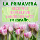 Spring - Receptive and Expressive Language Pack - NO PREP