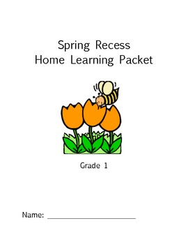 Spring Recess Homework Packet