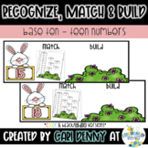 Spring Recognize, Match & Build Teen Numbers