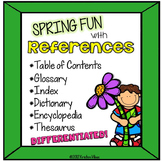 Word References Spring Themed