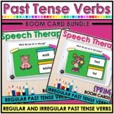Spring Regular and Irregular Past Tense Verbs Bundle   Spe