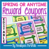 Reward Coupons for the Classroom - Spring or Anytime