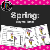 Spring Rhyme Match Game