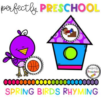 Spring Birds Rhyming