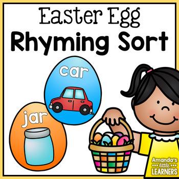 Spring Rhyming Eggs