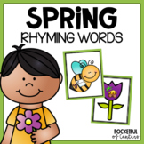 Spring Rhyming Game