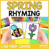 Spring Rhyming Game
