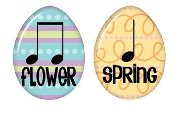 Spring Rhythm Cards