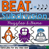 Rhythm Music Game - Beat Subdivision Puzzles and Game