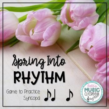 Spring Rhythm Reading Interactive Game - Syncopa (Kodaly R