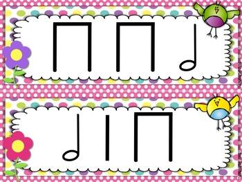 Spring Rhythm Strips Half Note / Rest