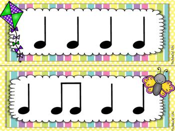 Spring Rhythm Strips Ta-Titi-Rest