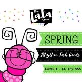 Spring Rhythm Task Cards - Level One