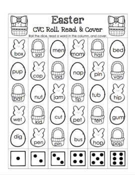 Spring CVC Roll, Read, and Cover Pack