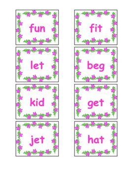 Spring ~  Roll, Save, Keep!          A Short Vowel Game!
