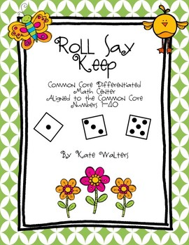 Spring Roll Say Keep {Differentiated and Aligned to the Common Core}