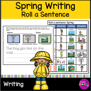 Spring Roll a Sentence or story