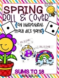 Spring Roll and Cover Dice Games for Math