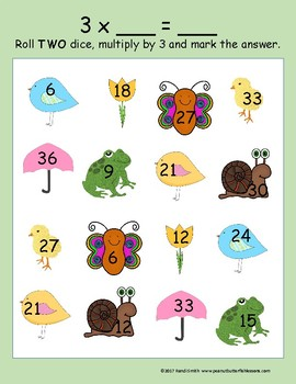 Spring Roll and Multiply Game