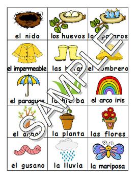 Spring SPANISH games,workbooks,SmartNotebook file