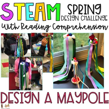 Spring STEAM Challenge & Comprehension Activities
