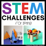 STEM Challenges for Spring - Great for Earth Day STEM Activities