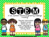 End of Year STEM - Sunglasses Engineering Challenge