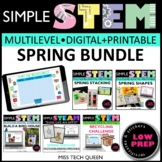 Spring STEM Activities Challenge Bundle