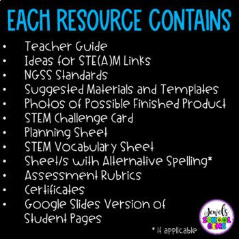 Spring STEM Activities BUNDLE (Spring STEM Challenges)
