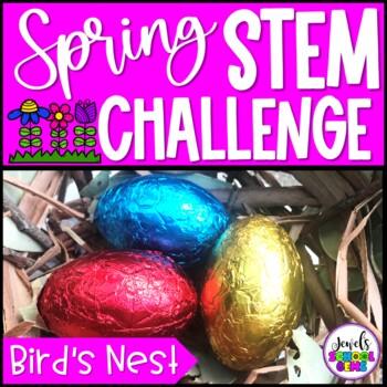 Spring STEM Activities (Bird's Nest Spring STEM Challenge)