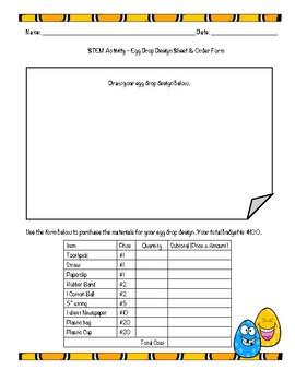 Spring STEM Activity - Egg Drop