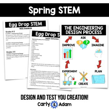 Spring STEM Bundle (4 Challenges) - NGSS Aligned