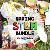 Spring STEM Activities and Spring STEM Challenges Bundle