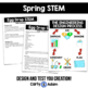 Spring STEM Bundle (4 Challenges) - NGSS Aligned